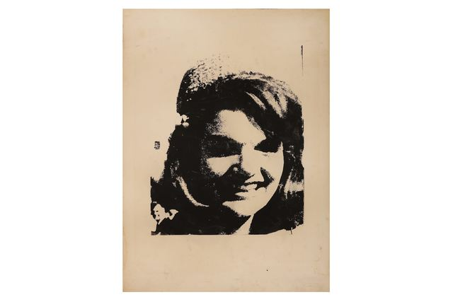 Andy Warhol, 'Jackie Kennedy Silkscreen', 1964, Print, Silkscreen, Chiswick Auctions