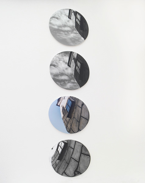 , 'Linse (Haus),' 2007, Raum mit Licht