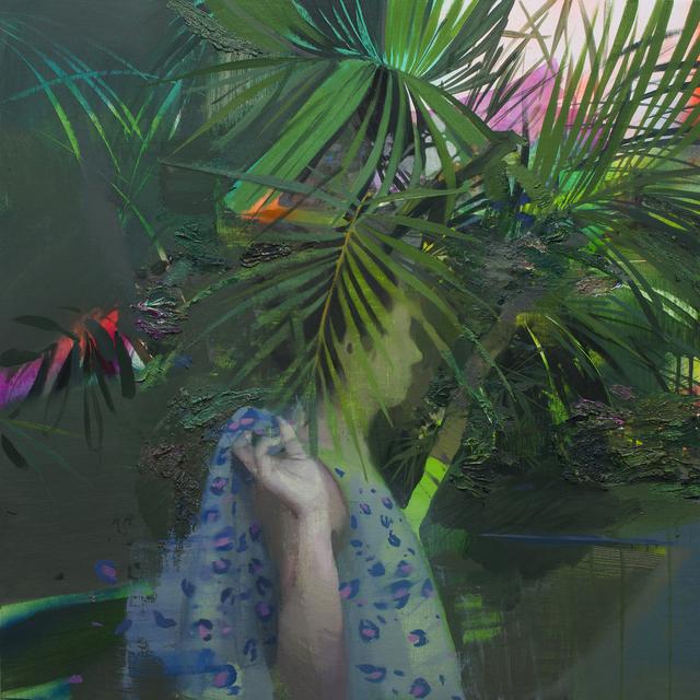 , 'Blurred between leaves,' 2019, GALERIA JORDI BARNADAS