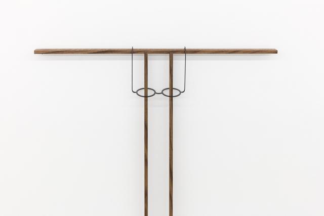 , 'Untitled (eyeglass rest, fixed) (detail),' 2017, MKG127