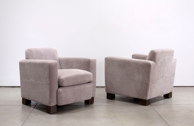 , 'Pair of Chairs for Svenskt Tenn,' ca. 1930, Hostler Burrows