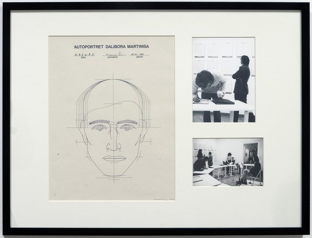, 'Selfportrait of D.M. by...,' 1977, P74 Gallery