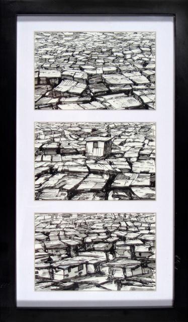 , 'Slum Triptych,' 2017, Gregorio Escalante Gallery