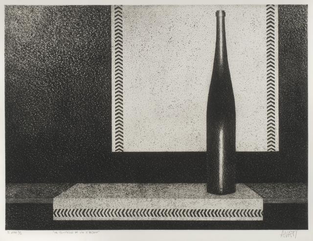 , 'La Bouteille de Vin l'Alsace,' 1957, Thomas French Fine Art