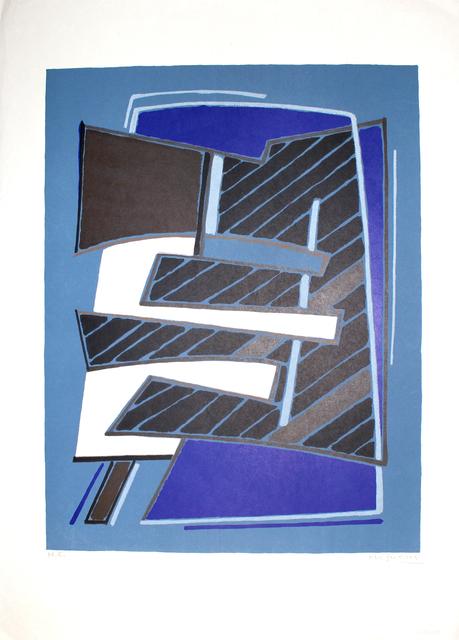 , 'Composizione in Azzurro,' 1965, Sylvan Cole Gallery