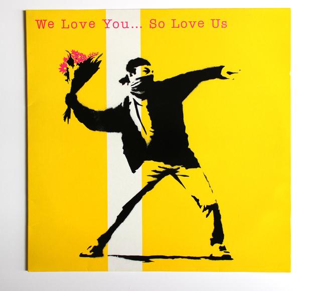 Banksy, 'We Love You So Love Us', 2000, EHC Fine Art