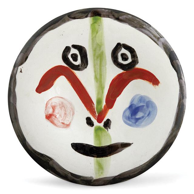 Pablo Picasso, 'Visage No. 157 (A.R. 489)', 1963, Doyle