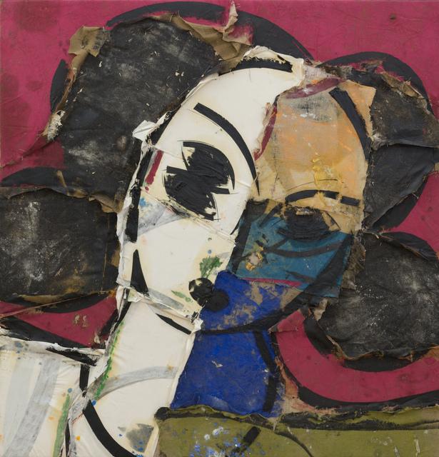 , ' Odalisca sobre fondo Rojo,' 2016, Contini Art Gallery