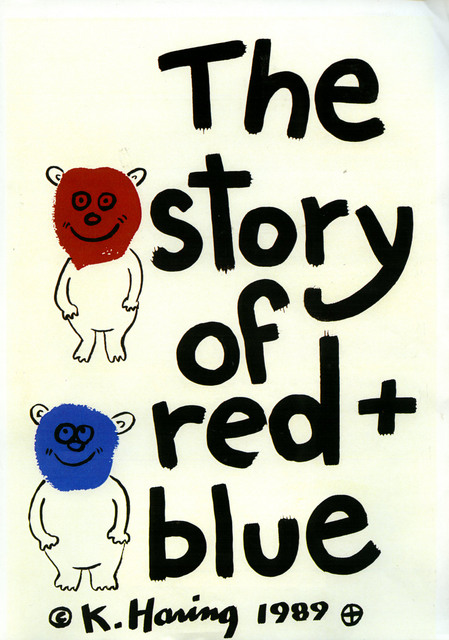 , 'The Story of Red and Blue (Set of 21 Prints),' 1989, Galerie Hans Mayer