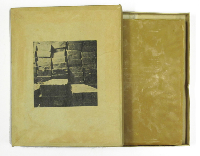 , 'Untitled Beeswax slab,' 1990, Zucker Art Books