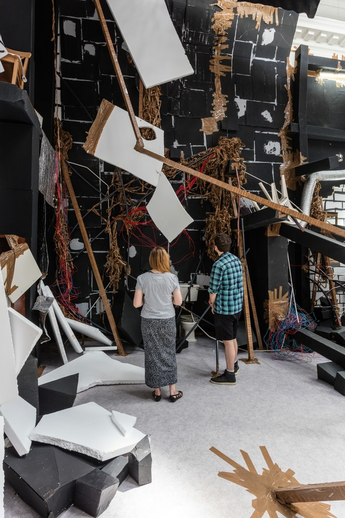 Thomas Hirschhorn, In-Between, installation view at the South London Gallery, 2015. Courtesy of Thomas Hirschhorn. Photos: Mark Blower.
