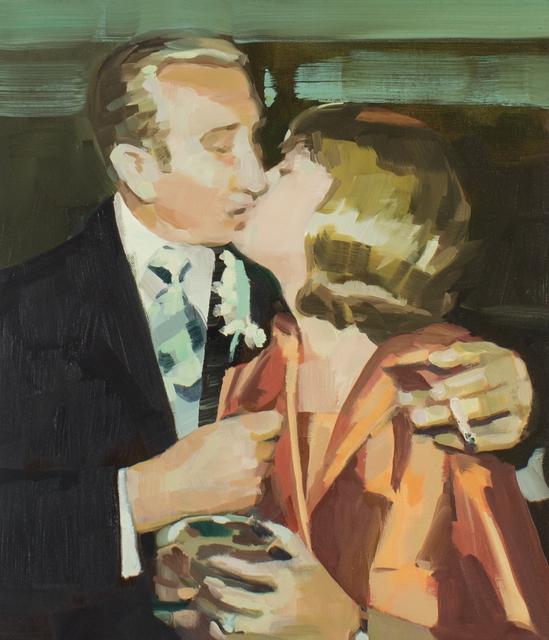 , 'Kiss 1976,' 2018, Kopeikin Gallery