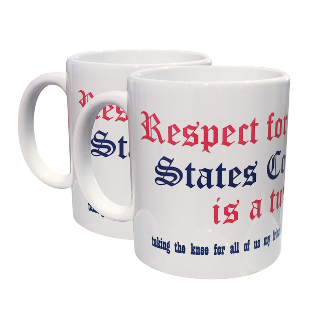 , 'Respect for the United States Constitution is a Turn-On (set of two mugs),' 2018, Fleisher/Ollman