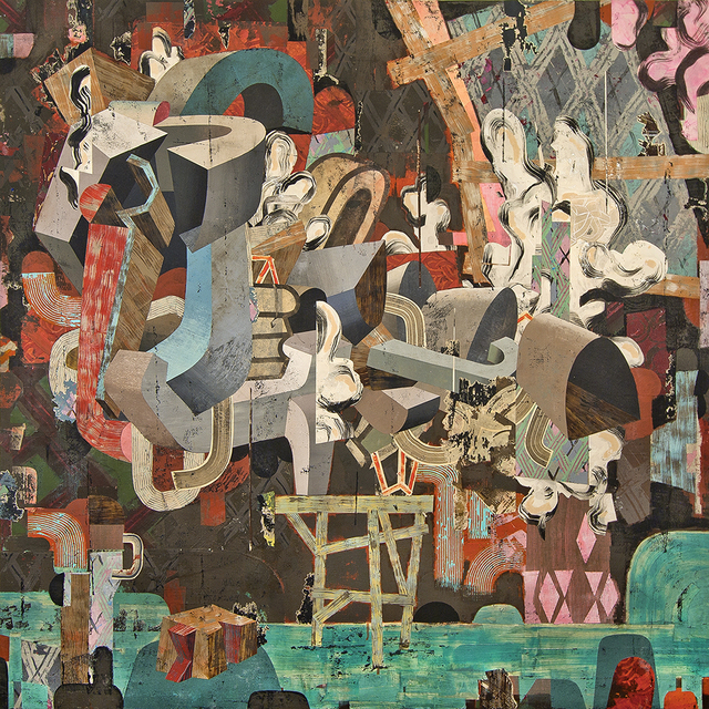 , 'Apologies to Mr. Bohm,' 2017, Linda Hodges Gallery