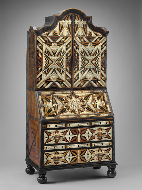 , 'Desk and bookcase,' Mid 18th century, Museum of Fine Arts, Boston