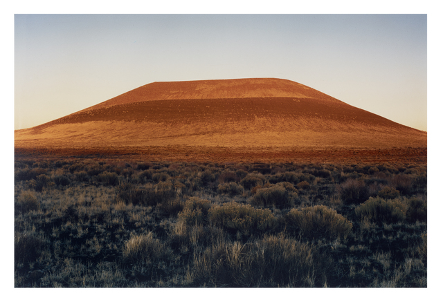 James Turrell, 'First 4 x 5 Photograph of Roden Crater', 1978, Hiram Butler Gallery