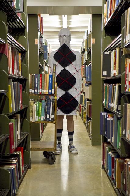 , 'Bill the Librarian,' 2010, Galleri Urbane