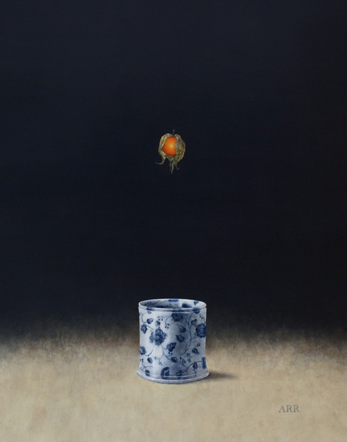 Alison Rankin, 'Blue and White Jar with Falling Physalis', 2018, Quantum Contemporary Art