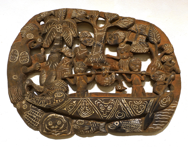 Papua New Guinea Tribal Art, 'Storyboard 11', 1960-1995, Etherton Gallery