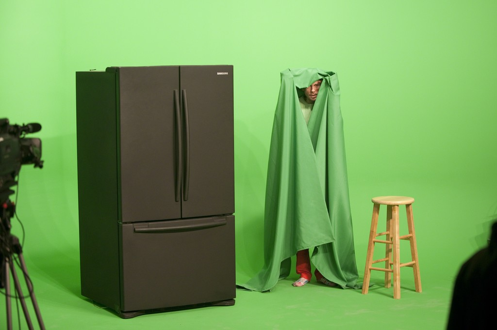 Performance view of GreenScreenRefrigeratorAction