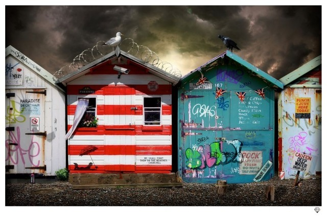 JJ Adams, 'Beach Huts', 2013, Reem Gallery