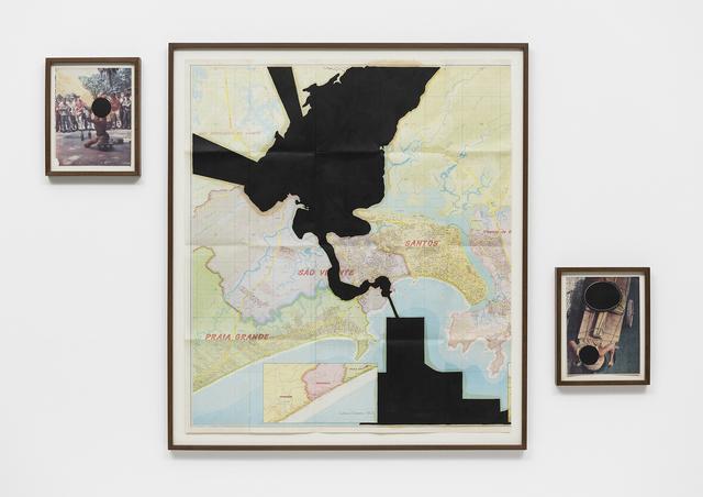 , 'Baixada negra - refinar e distribuir,' 2014, Galeria Luisa Strina
