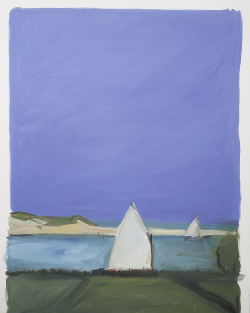 , 'Two Sailboats,' 2016, MM Fine Art