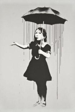 Banksy, 'Nola Grey Rain', 2008, Castle Gallery