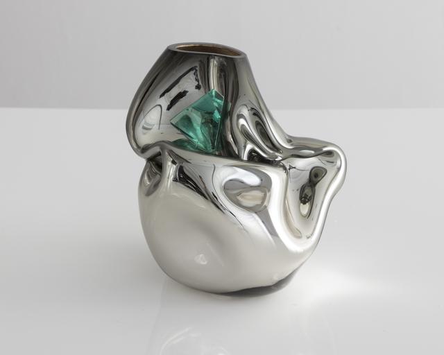 , 'Unique petite crumpled sculptural vessel,' 2017, R & Company
