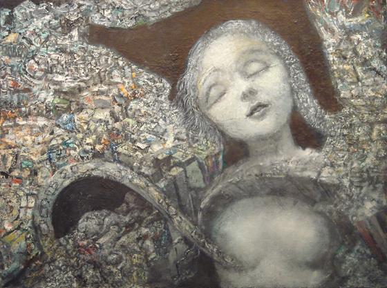 , 'untitled (dreaming figure),' 1991, Gallery NAGA