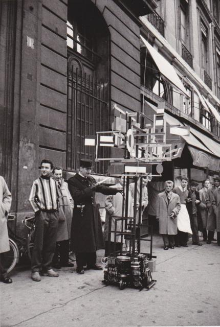 , 'CYSP 1 in the Streets of Paris (opposite MAXIM'S restaurant),' 1956, Maddox Arts
