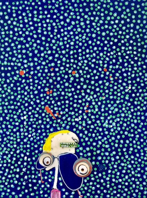 , 'Universo de Puntos 07,' 2019, Juan Silió