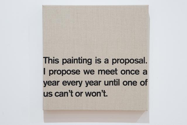 , 'Proposal,' 2007, MASS MoCA