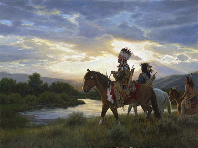 Robert Duncan, 'Going to Council', 2020, Painting, Oil on canvas, Trailside Galleries