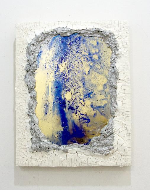 , 'Mirror painting series no.4 (Lapis),' 2016, Amos Eno Gallery