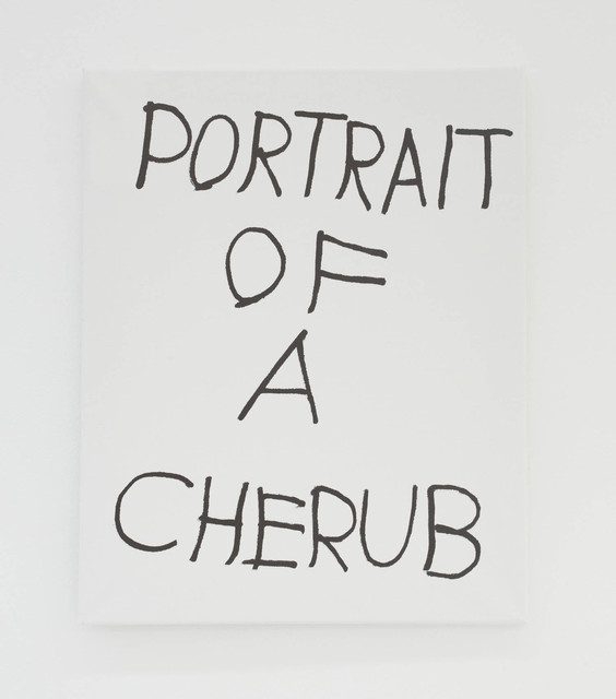 , 'PORTRAIT OF A CHERUB,' 2016, The Hole