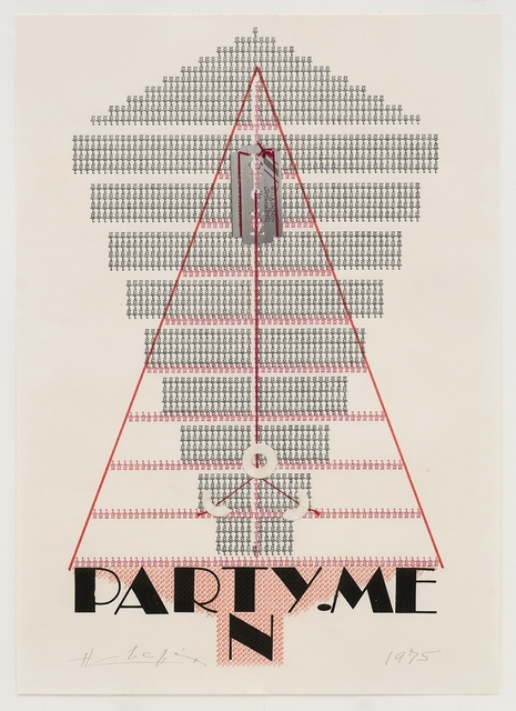 , 'Party. Men,' 1975, Richard Saltoun