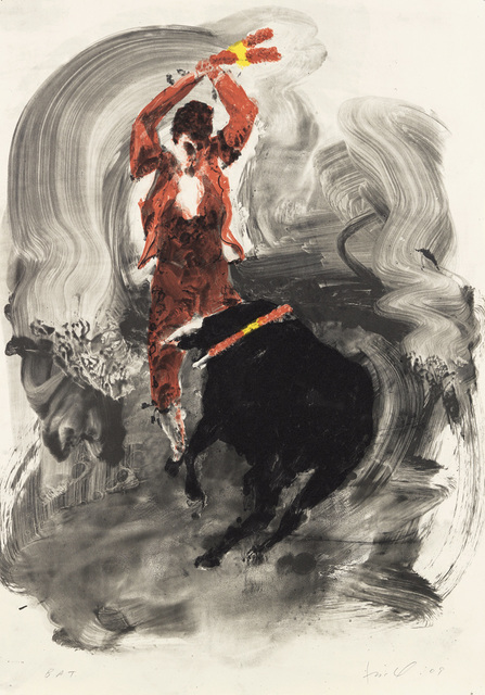 , 'Untitled (Bullfight 1),' 2009, Nikola Rukaj Gallery