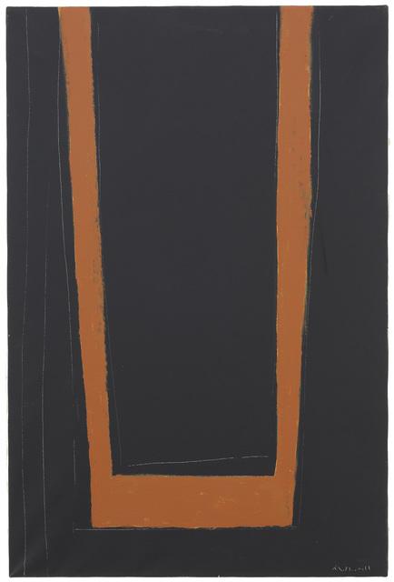 , 'Open No. 146: Umber on Black,' 1970, Ameringer | McEnery | Yohe