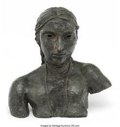 Third Portrait of Sunita (Bust with necklace)