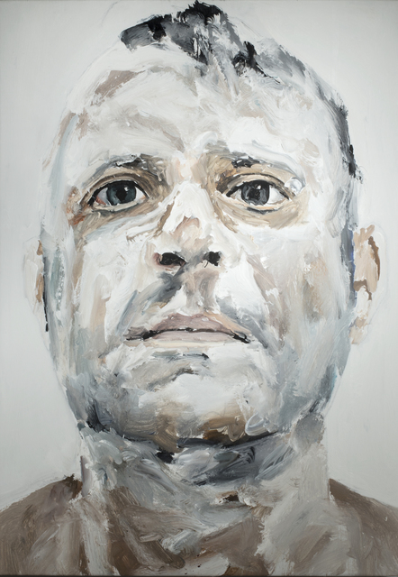Santiago Ydañez, 'Untitled (self portrait)', 2013, Painting, Acrylic on board, Dillon + Lee