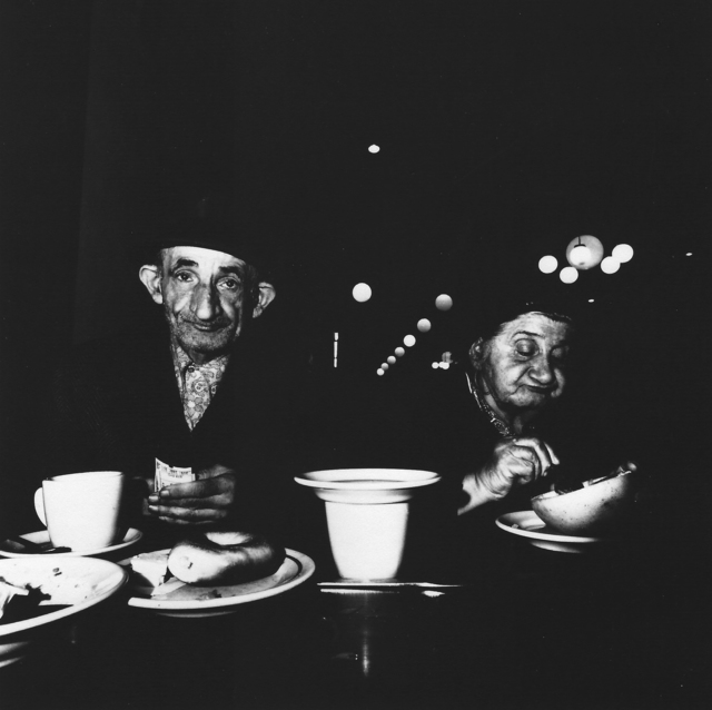 , 'The Cafeteria. Storekeepers from a candy store on Avenue B, 1973,' ca. 1973, Elizabeth Houston Gallery