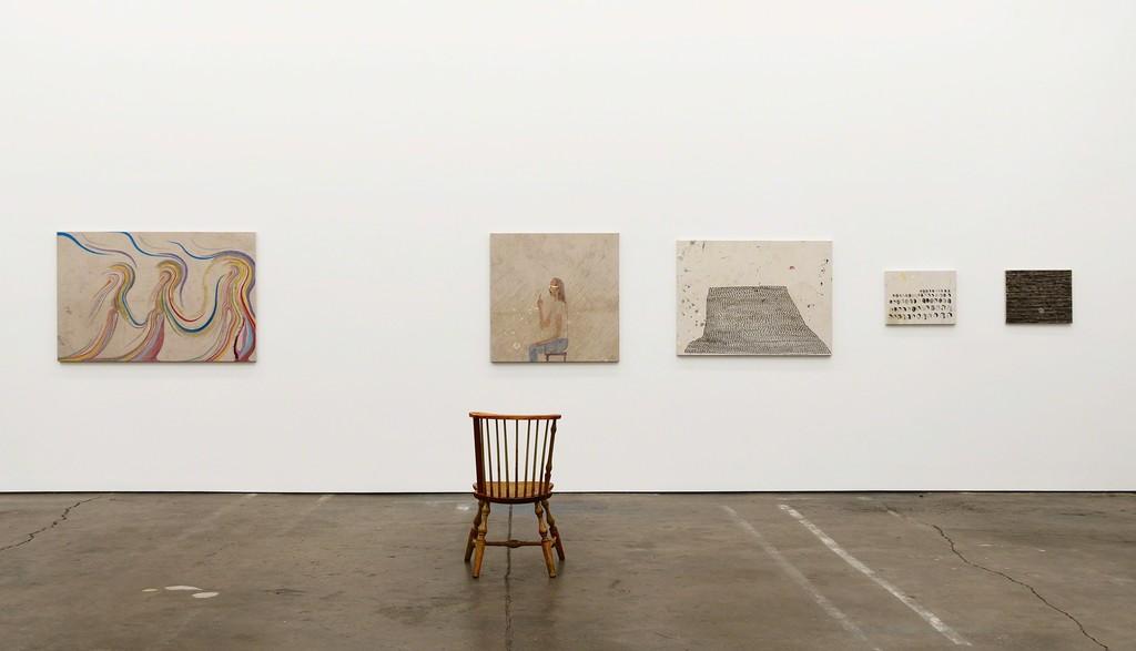Chris Johanson Ruminations, Meditations and The Homeostasis, 2018 Installation view Altman Siegel, San Francisco