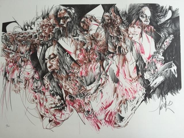 , 'Jazz,' ca. 1980, ByNewArt