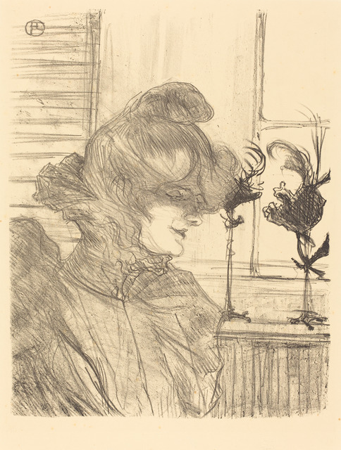 Henri de Toulouse-Lautrec, 'Mme. Le Marguoin, Milliner  (Mme. Le Marguoin, modiste)', 1900, National Gallery of Art, Washington, D.C.