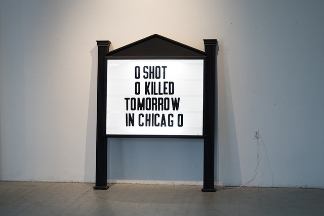 Nathan Miller, 'Elijah's Church Marquee', 2020, ClampArt
