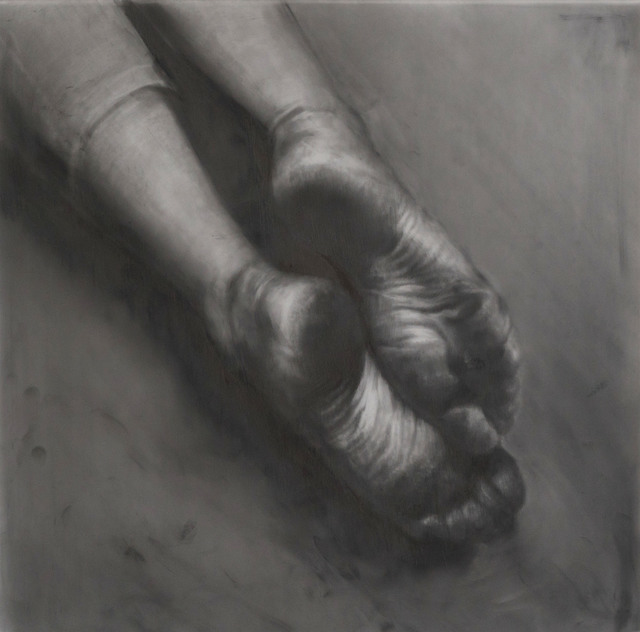 , 'Wanderer's Feet,' 2017, Booth Gallery