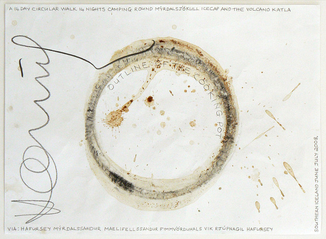 , 'Outline of the Cooking Pot. A 14 Day Circular Walk Iceland, 2008/2008,' 2008, Rhona Hoffman Gallery