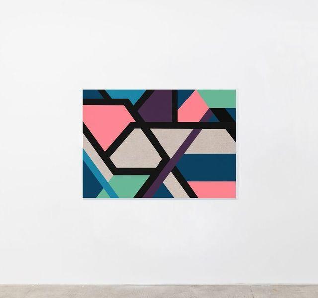 , 'American Life is Charm in Aubergine (Anita Loos),' 2016, Pearl Lam Galleries