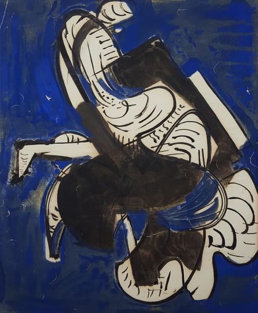 Hans Hofmann, 'Composition in Blue', 1952, Graves International Art